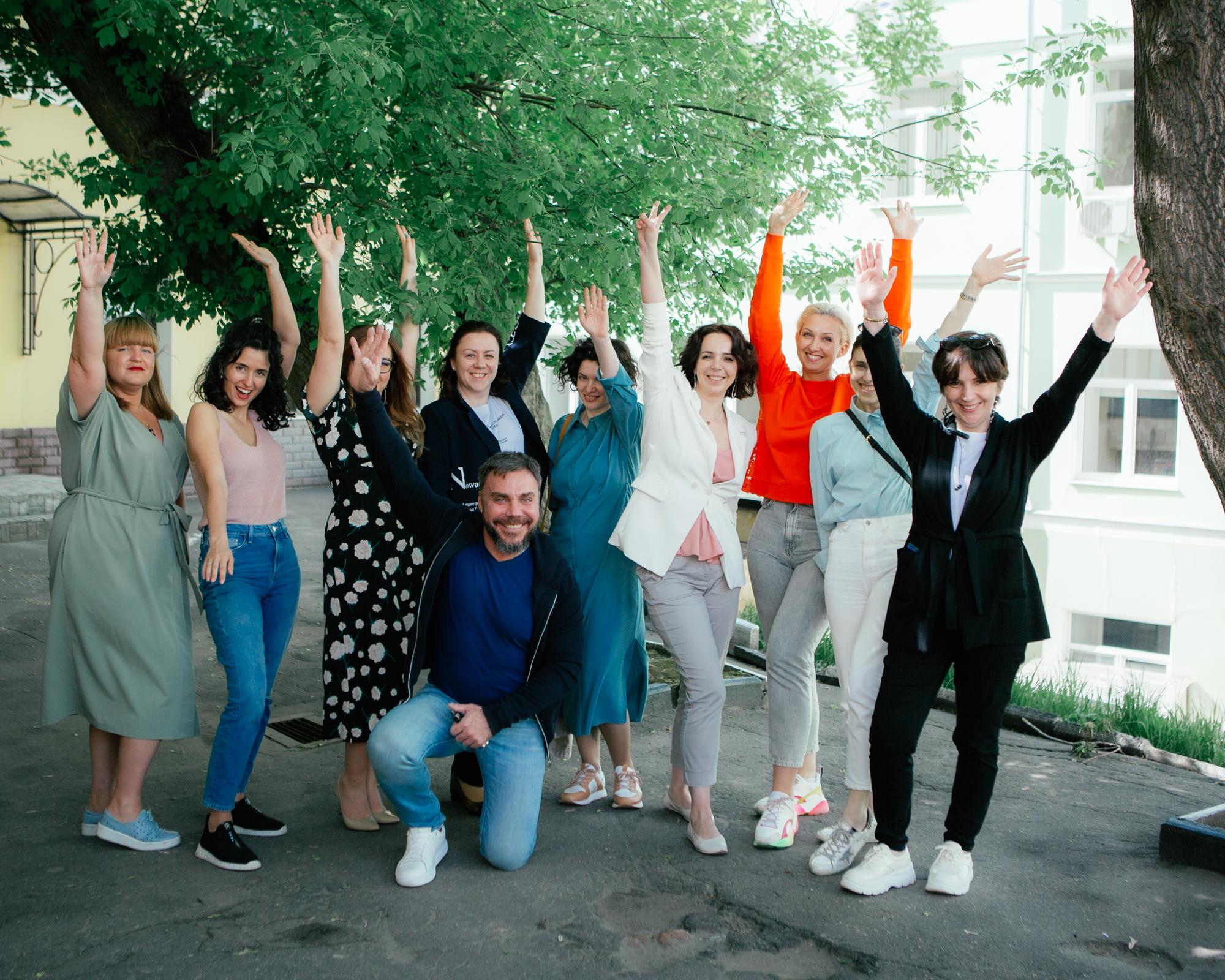 В Учебном центре АРИТ завершился первый день Авторского курса по голосу и речи Марии Кондратович
