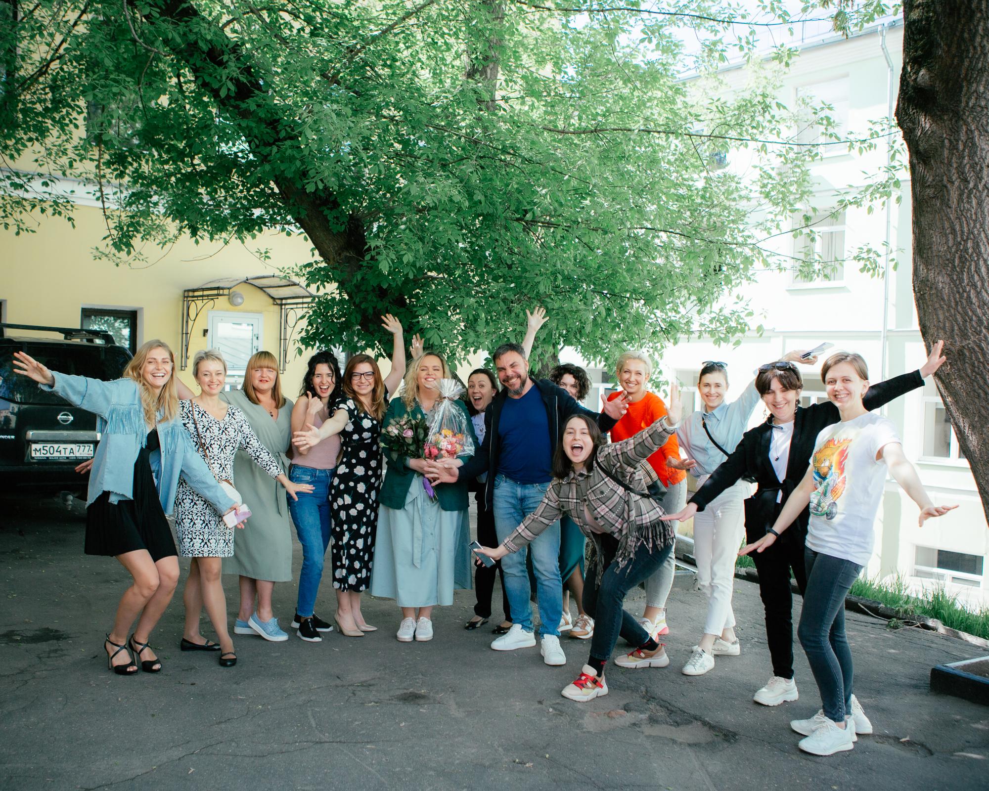 Завершился Авторский курс по голосу и речи Марии Кондратович в Москве